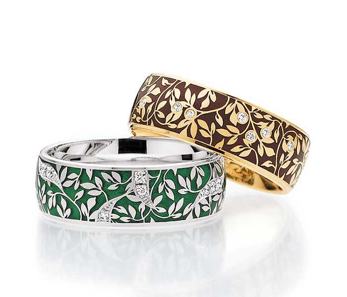 Ringen van Elise - Circles Art&Jewelry - Zwijndrecht