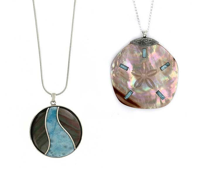 Hanger Larimar - Circles Art&Jewelry - Zwijndrecht