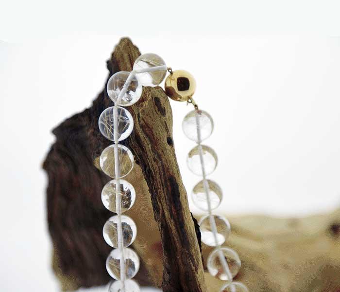Collier van rutielkwarts - Circles Art&Jewelry - Zwijndrecht