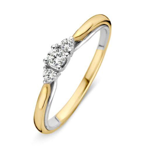 Ring bicolor briljant 0