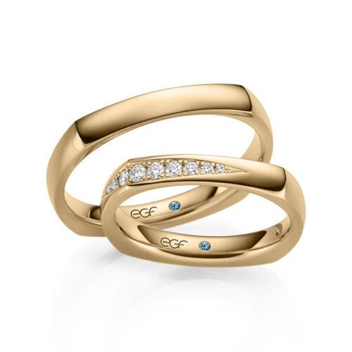Roségouden-trouwringen-diamant-0.14ct-webshop-Circles-Art&Jewelry-Zwijndrecht