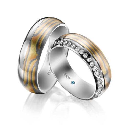 Trouwringen-Mokume-Gane-Circles-Art&Jewelry-Zwijndrecht