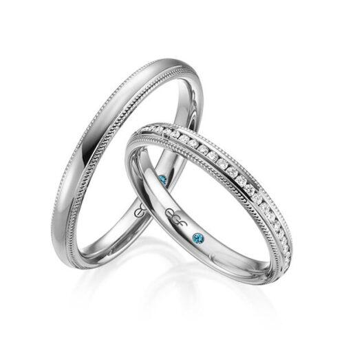Trouwringen-grijsgoud-Circles-Art&Jewelry-Zwijndrecht