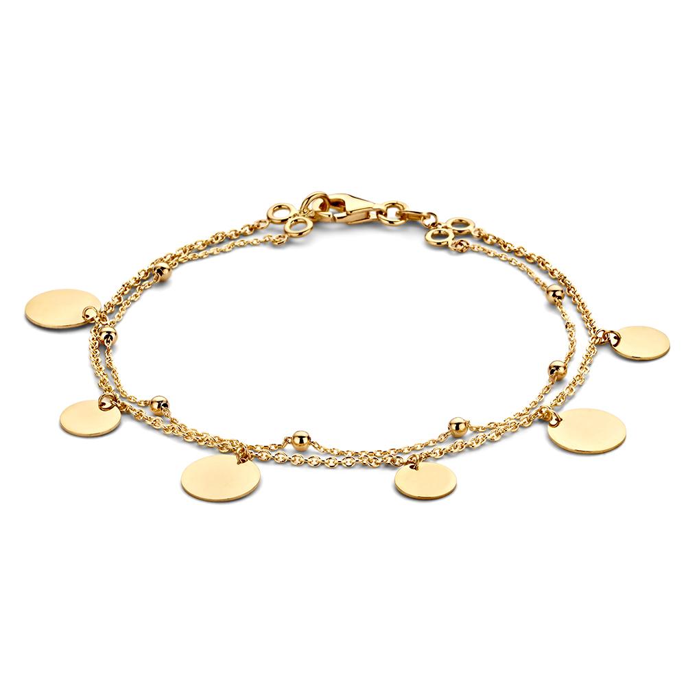 Gouden colliers - Online winkelen - Circles Art and Jewelry