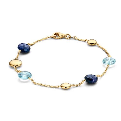 armbanden online-geelgoud-edelsteen-collectie Circles Art and Jewelry- Zwijndrecht