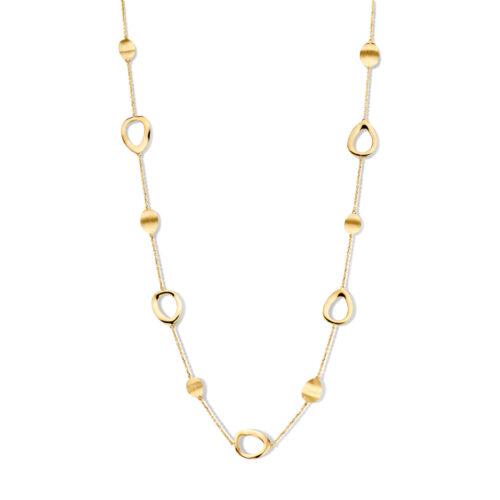 Collier geelgoud - collectie Circles Art&Jewelry - Zwijndrecht - 078-6124832