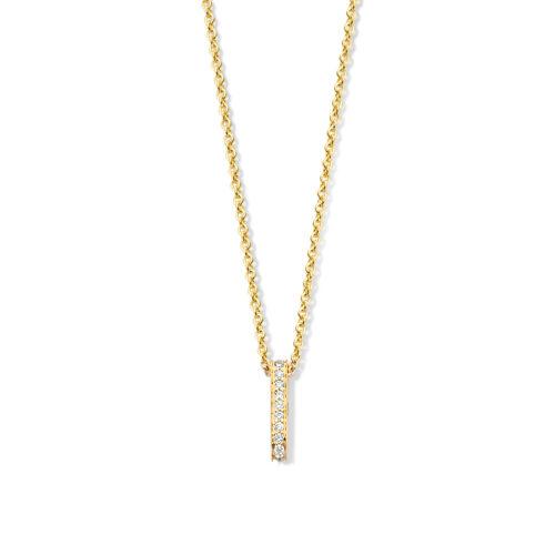 collier-geelgoud-briljant-Circles Art&Jewelry-Zwijndrecht